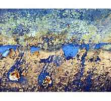 Abstract in Blue Photographic Print