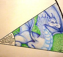 "Dragon Sight - My piece for the Collaboration:  ""In the Eye of the Beholder - 8 Artists, 1 piece"" by Picatso"