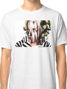 Faces Of Beautiful Horror- Image 7/blonde Hair Classic T-Shirt