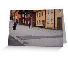 Sodermalm in Stockholm Greeting Card
