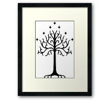 White Tree of Gondor Framed Print