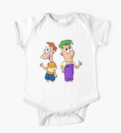 Phineas and Ferb One Piece - Short Sleeve