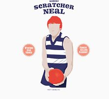 Robert Scratcher Neal - Geelong (on white) Unisex T-Shirt