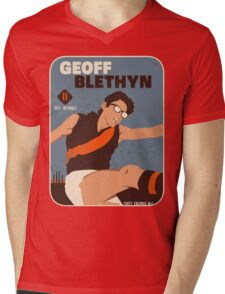 Geoff Blethyn, Essendon Mens V-Neck T-Shirt