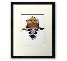 Rorschach - Watchmen Framed Print