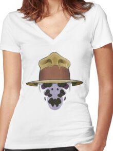 Rorschach - Watchmen Women's Fitted V-Neck T-Shirt
