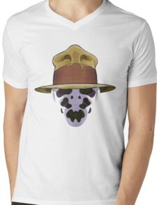 Rorschach - Watchmen Mens V-Neck T-Shirt