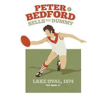 Peter Bedford, South Melbourne - white shirts Photographic Print