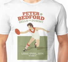 Peter Bedford, South Melbourne - white shirts Unisex T-Shirt