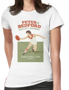 Peter Bedford, South Melbourne - white shirts Womens Fitted T-Shirt