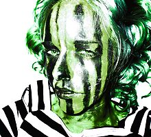 Faces Of Beautiful Horror- Image 7/Green Hair by Rachel Green