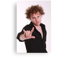 Dave Campbell - Comedian - promo 2 Canvas Print