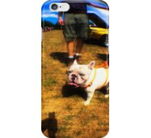Frenchy at the Car Show  iPhone Case/Skin