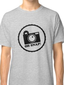 Oh Snap! (Negative) Classic T-Shirt