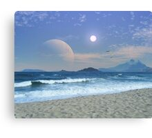 Surf Riders of Maranos Canvas Print