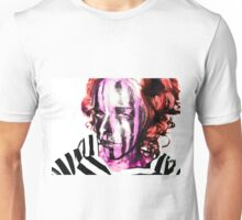 Faces Of Beautiful Horror- Image 7/Red Hair Unisex T-Shirt