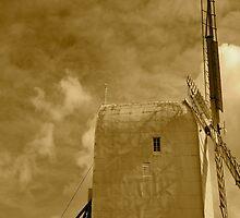 The white  Windmill 1 by borzoi1