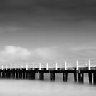 Queenscliff Pier by Mick Kupresanin