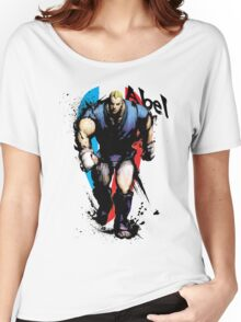 Street Fighter IV Abel Women's Relaxed Fit T-Shirt