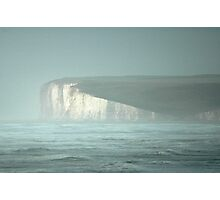 Stormy seas at seven sisters 2 Photographic Print