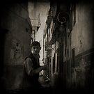 Young man in Damascus by Morten Kristoffersen
