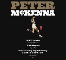 Peter McKenna, Collingwood (dark shirts) by Chris Rees