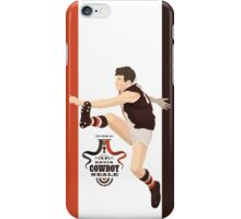 Cowboy Neale - St Kilda on Barker White iPhone Case/Skin