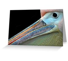 Mr.Pelican. Greeting Card