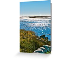 Cape Sable Lighthouse Greeting Card