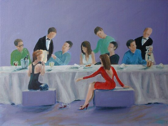 Supper by Carole Russell