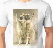 French Dancers vintage photo Unisex T-Shirt