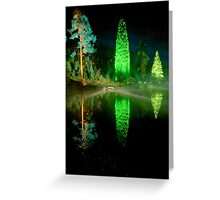 Electric Forest 10 Greeting Card