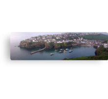 Panorama of Port Isaac Canvas Print