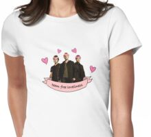 Team Free Loveliness Womens Fitted T-Shirt