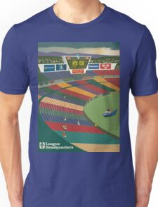 VFL Park – Angry and Deek in the Batmobile Unisex T-Shirt