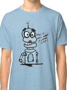 Naughty Robot II Classic T-Shirt