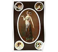 Victorian ladies vintage  Poster