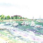 Boats @ New Silver by mleboeuf
