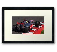 Lewis' Mclaren Framed Print