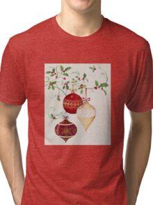 Decorative Glass Ornaments Tri-blend T-Shirt