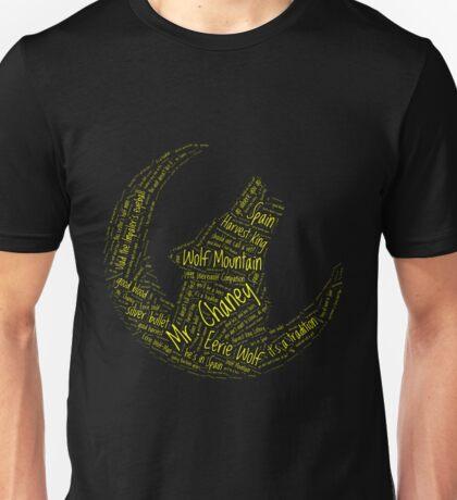 Eerie Indiana Mr Chaney Joe DAnte Eerie Wolf Unisex T-Shirt