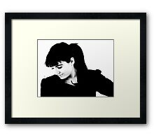 I wish I was young and carefree again.. Framed Print