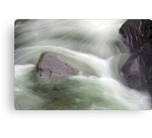 Water abstract  V Canvas Print