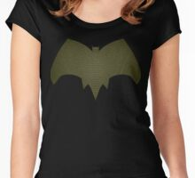 dawn of justice batgirl Women's Fitted Scoop T-Shirt