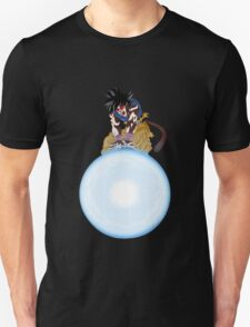 dragon ball z goku spirit bomb full moon ape anime manga shirt T-Shirt