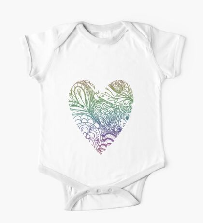 Heart Swirls Kids Clothes