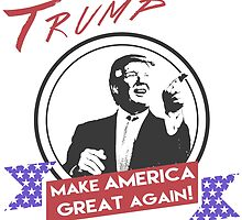 Donald Trump Make America Great Again by trevorhelt