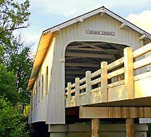 """""""Grave Creek Bridge"""" by Lynn Bawden"""