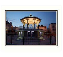 Brighton Birdcage Bandstand Art Print