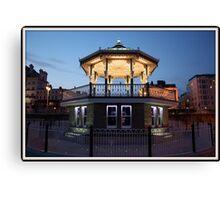 Brighton Birdcage Bandstand Canvas Print
